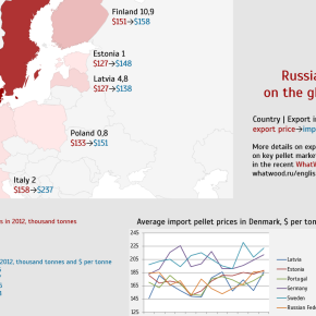 Russian pellets on the global market