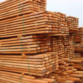 Lumber production in Russia fell 2.6% to 10.2m m3 in the first half of 2013
