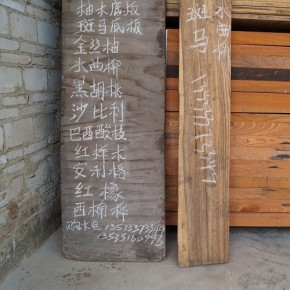 Chinese timber industry: Wood Guangzhou conference materials