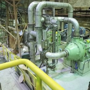 Segezha pulp and paper mill carried out major repairs of paper machine №9