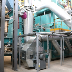 The Vyatka plywood mill has implemented an energy project to use wood waste instead of natural gas
