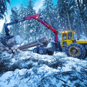 "At GC ""Titan"" new logging company earned"