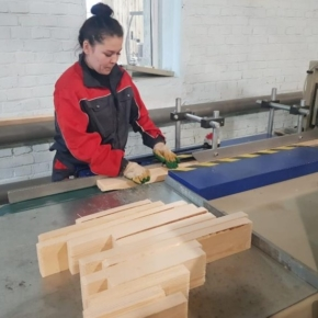 In the Sverdlovsk region created 42 jobs in the new wood processing plant in Volchansk