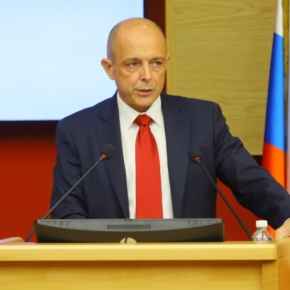 """Chairman of the Legislative Assembly of the Irkutsk region Sergey Sokol: """"People who earn on the forest, prevent the industry from coming out of the shadow"""""""