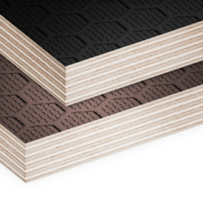 Sveza Group launches production of birch plywood with anti-slip coating and embossed hex