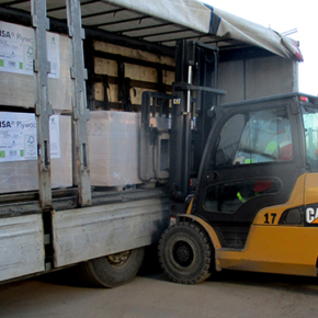 Deliveries of plywood from the new production line of UPM Chudovo plant began