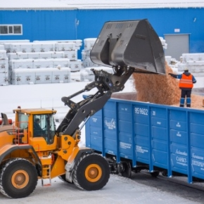 "1Q 2019 at three enterprises GK ""ULK"" sawed over 640 cubic meters of wood"