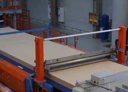 Pavlovsk woodworking plant shipped the first 100 cubic meters of MDF with a thickness of 8 mm and 16 mm