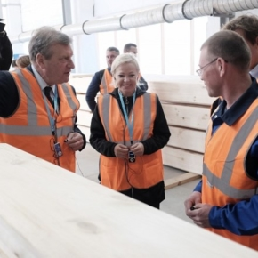 Holz House  launched the production of laminated veneer lumber in the Kirov region