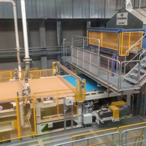 In Poland, Egger launched the 19th plant with a capacity of 650 thousand cubic meters of chipboard per year