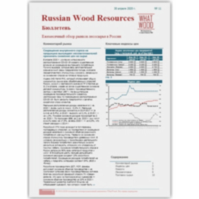 Russian Wood Resources Price Bulletin 04-2020 has published