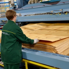 Russian plywood exports grew by 4.7% in 1H 2020