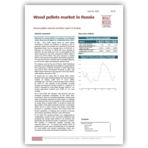 WhatWood Agency announces Russian Wood Pellet Market, a monthly price review
