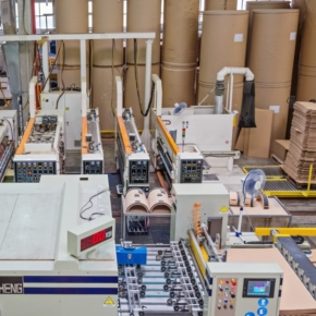 GS Group announced its plans to invest up to half a billion rubles in the production of packaging from cast paper pulp at First Cardboard Factory