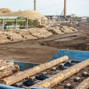 Segezha Group is building a new railway spur on the premises of Lesosibirsky LDK No.1