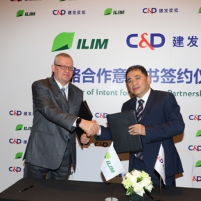 Ilim Group to sign an agreement with Xiamen C&D Corporation