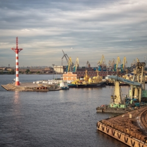 Sea Port of Saint Petersburg JSC increased wood pellets transshipment