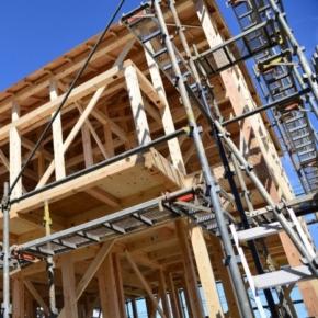 Japan declines a wooden house construction