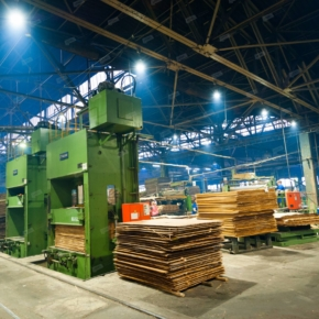 In January – September 2020, Sveza Tyumen reduced plywood production by 6%