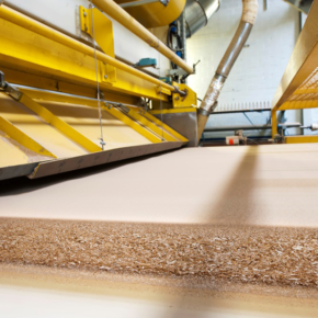 The Ministry of Industry and Trade may introduce a temporary ban on the export of particleboards from Russia