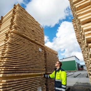 Luke: Finland reduces forest industry products export in January-October 2020