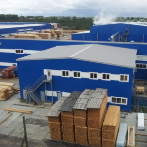 Sawmill 25 increased the output of export sawn timber in 2020