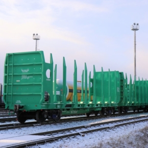 Based on results of 2020, Arkhbum LLC increased the products transportation by 19.1% using its own wagons