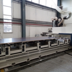 New CNC machine has been launched at Sveza mill in St. Petersburg