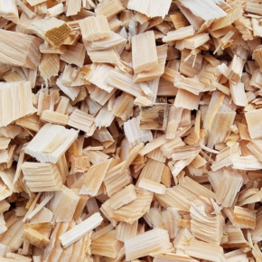 European trade of wood chips has gone up substantially
