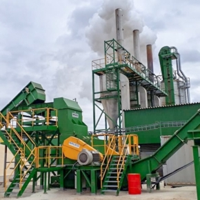 Velsky LPK improves the quality of wood pellets