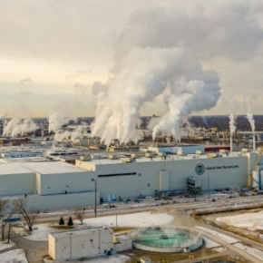 Green Bay Packaging begins paper mill production