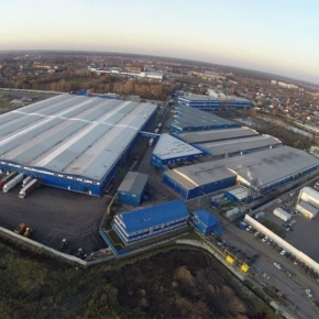 Pavlovo-Posadskiy Gofrokombinat commissions a new building for storing products in the Moscow region