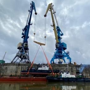 The navigation season begins at Segezha Group enterprises in Krasnoyarsk region