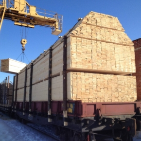 Timber exporters from Irkutsk are experiencing difficulties in shipping products to China