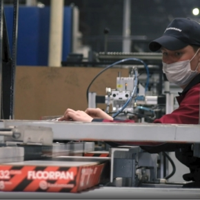 Kastamonu has launched a new laminate production line