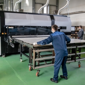 Aquaton put into operation a line for the production of digitally printed furniture panels in the Kursk region
