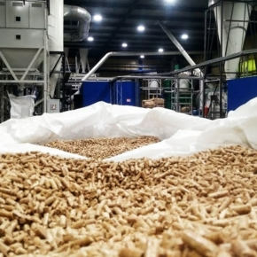 Wood pellets export from Russia increased by 7.3% in January-February 2021