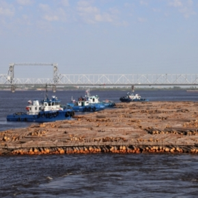 White Sea Floating Company completed its raft program