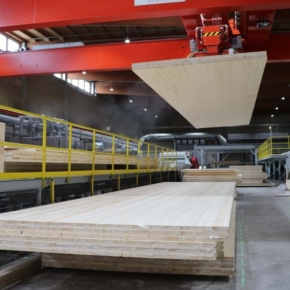 Pfeifer successfully completes the second expansion stage at the CLT plant in Schlitz