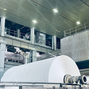Segezha Group launches commercial production of white paper