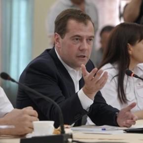 Медведев попросил россиян не вести себя в лесах по-свински