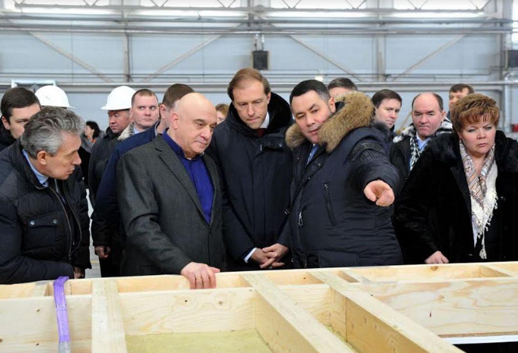 Открытие завода «Талион Арбор»