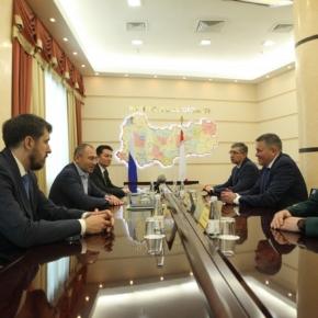 Губернатор Вологодской области и Президент Segezha Group обсудили перспективы строительства CLT-завода в Соколе