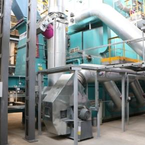 На Вятском фанерном комбинате реализован энергетический проект по использованию древесных отходов вместо природного газа