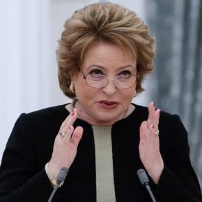 Матвиенко предложила приостановить экспорт леса