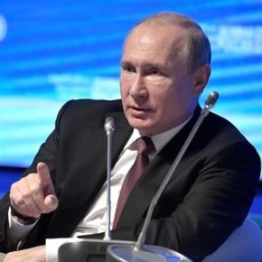 """Президент Российской Федерации Владимир Путин: """"Национальные проекты должны стать стимулом для российского бизнеса, для быстрого освоения передовых технологий, выпуска новых товаров, услуг"""""""