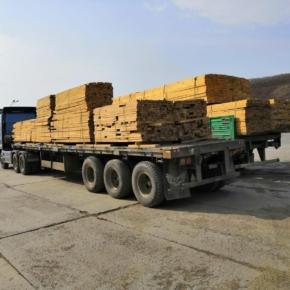 Российские таможенники пресекли незаконный сбыт ценных пород древесины в Китай на сумму свыше $11,5 млн