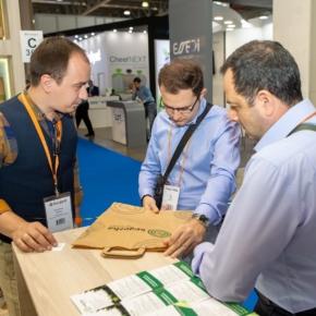 На RosUpack-2019 Segezha Group презентовала новый вид экологичной упаковки из бумаги SKE i4