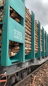 Около 15 млн руб. ООО «Шалакушалес» инвестировало в строительство железнодорожной ветки и погрузочных площадок