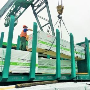 Segezha Group и ТрансЛес впервые применили инновационные лесовозные платформы для транспортировки пиломатериалов